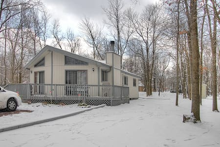 Four Season Lakeside Retreat - Albrightsville - Dom