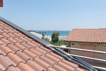 Roof terrace apt near beach Siderno - Siderno