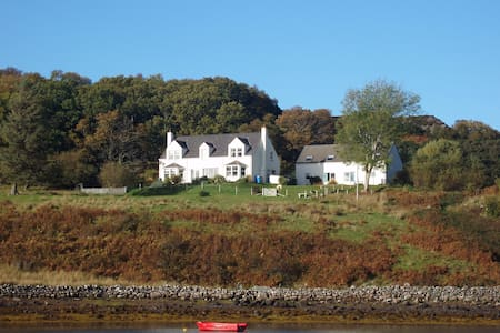Two cosy cottages in Badachro Bay. - Gairloch