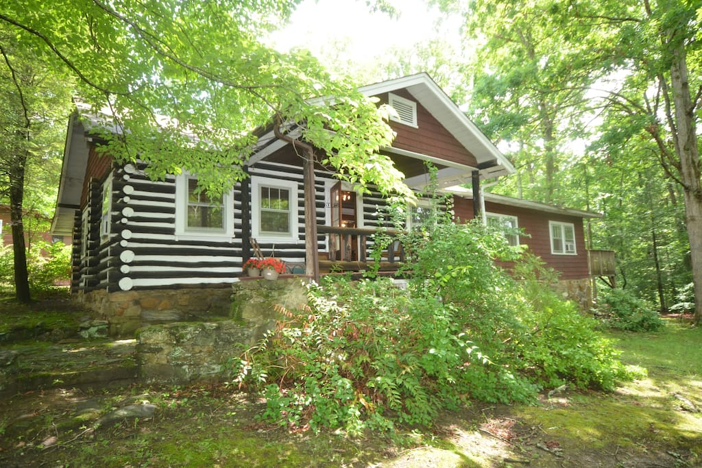 Asheville dreamer 39 s cabin cabins for rent in asheville for Asheville log cabin rentals