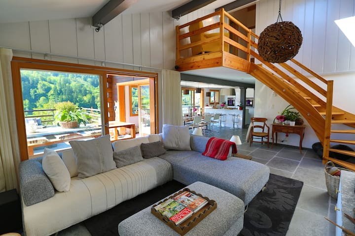 Close to Le Chable-Verbier ski lift - Bagnes - House