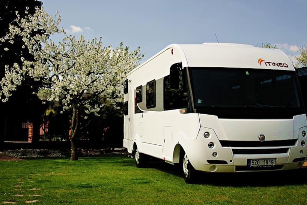 Caravan - outside