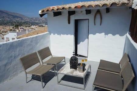 CasaChula townhouse with roof terrace, Altea
