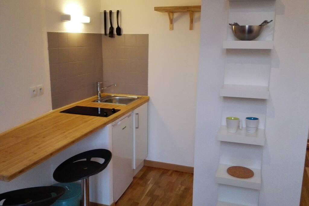 Studio calme coeur de toulouse appartements louer - Ustensiles de cuisine toulouse ...