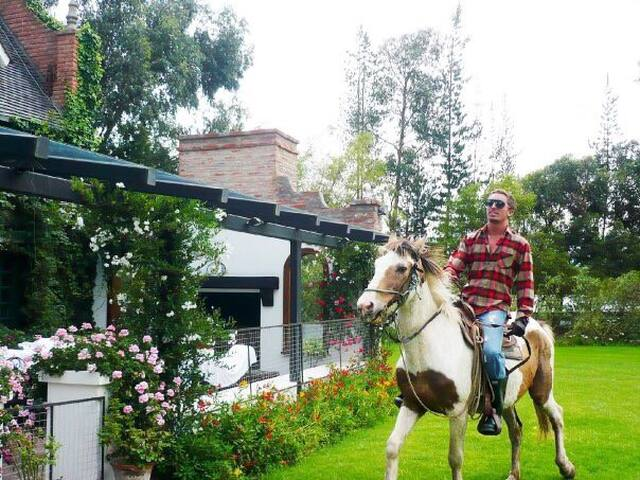 Casa De Campo. Naturaleza  - Latacunga