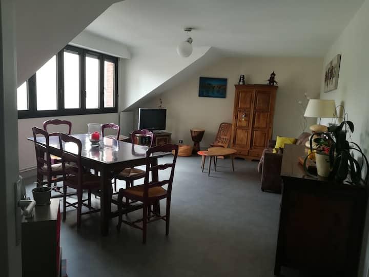 Appartement de 100m2 calme et lumineux
