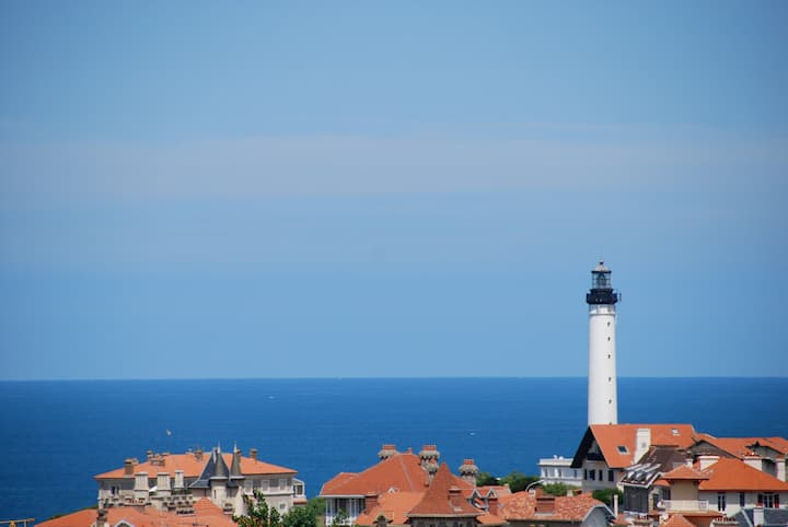 The lighthouse view
