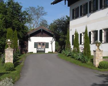 Zimmer südl. München am Seehamersee - Weyarn - Rumah
