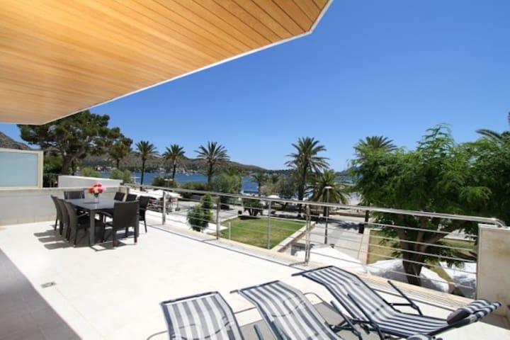 Appartement de vacances Olympo avec vue sur mer, vue sur la montagne, Wi-Fi et terrasses ; parking dans la rue