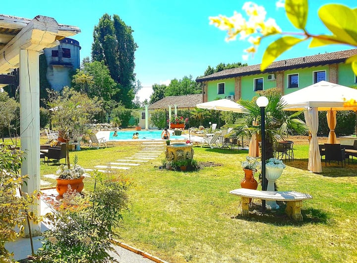 Studio in Gragnao, with shared pool, balcony and WiFi