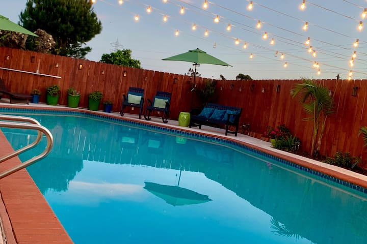 San Diego Private Suite W/ Pool Centrally Located