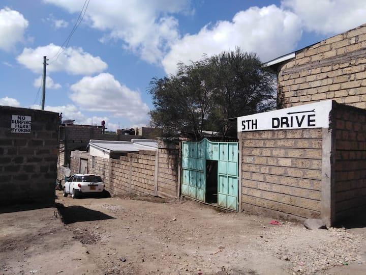 Experience the real rural-urban Kenyan set-up here