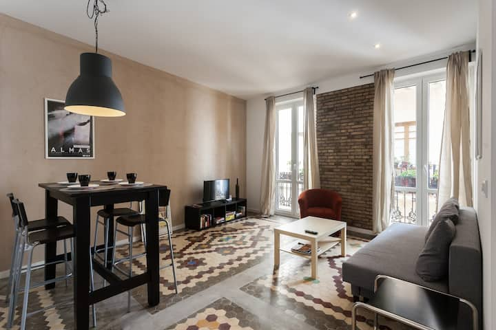 Cozy renovated apartment in the historic city center