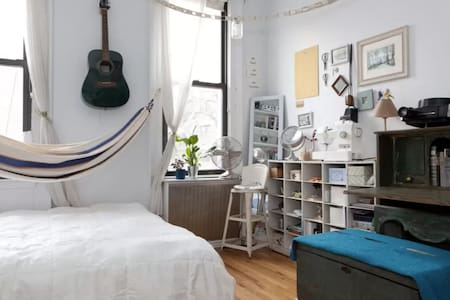 Sunny Studio Williamsburg, Private Bath&Entrance - Brooklyn - Apartment
