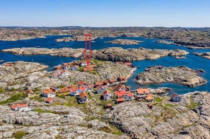 Uniqe island in the archipelago of Bohuslän