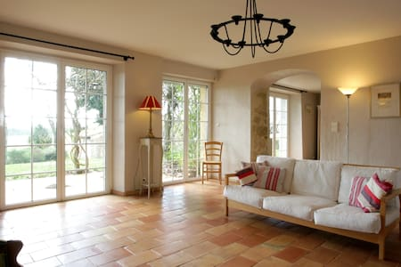 Country farmhouse with private pool - Labastide-d'Anjou - House