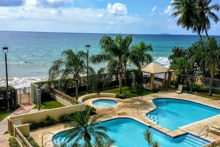 Rincon Beachfront Retreat 2bed/2bath w/ Balcony
