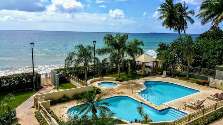 Rincon Beachfront Retreat 2bed/2bath w/ Balcony