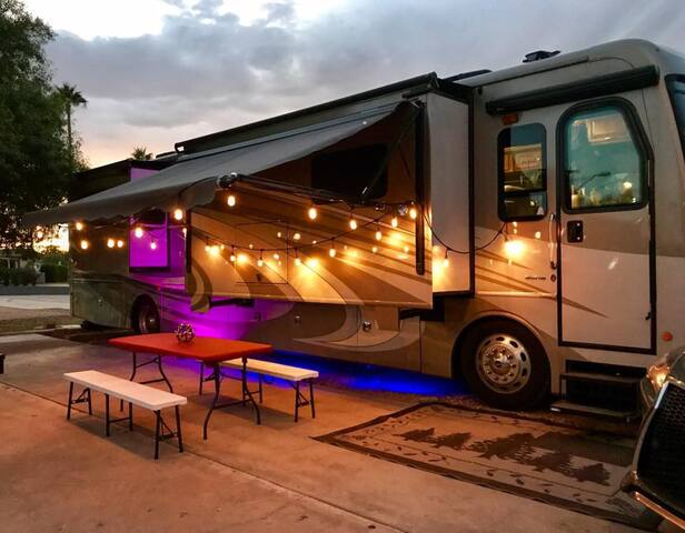 High-end RV in Prime Location