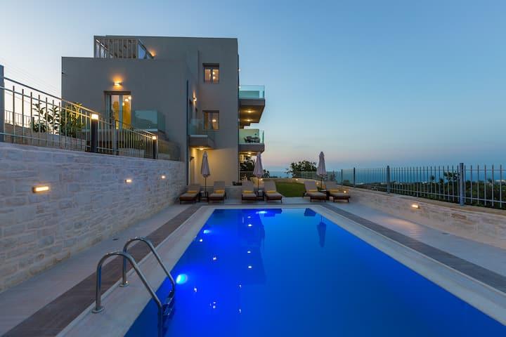 Vigla Suites-Apartment 1 Bedroom Sea View-Ground L