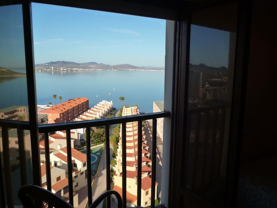 Vistas panorámicas al Mar Menor