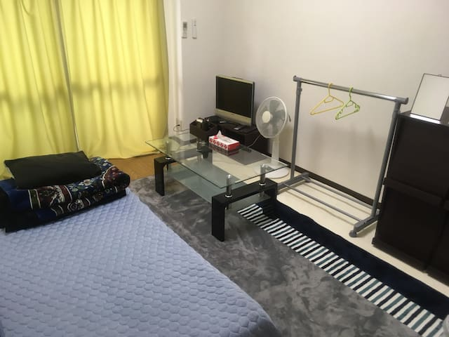 very convenient and cozy room near Namba area