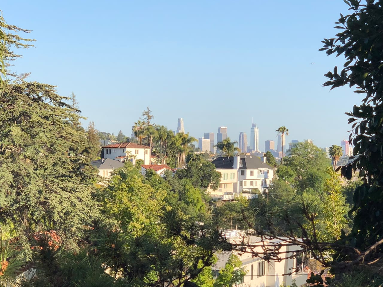 Downtown View from Private Patio