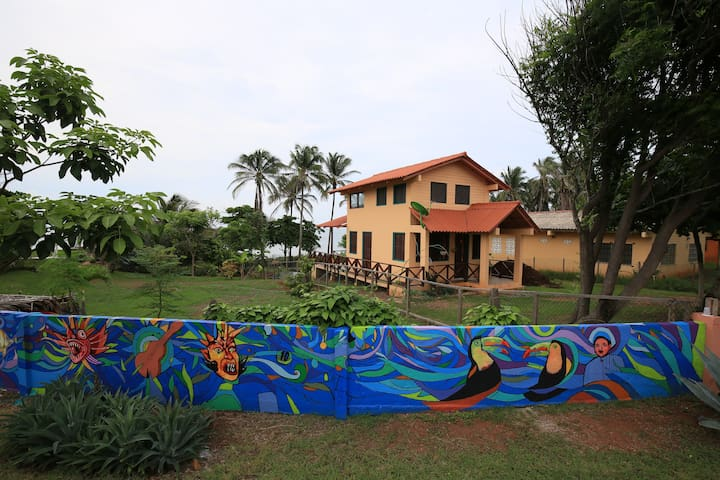 Two-story Cottage at the beach in Guararé