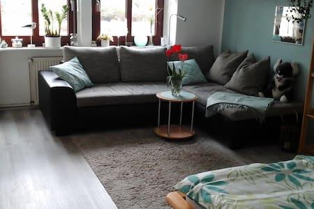 Gemütliches Zimmer in Bahnhofsnähe - Stralsund - Apartament