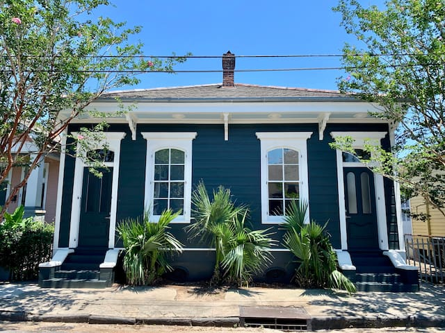 Elegant Bywater Shotgun with Bikes & Backyard