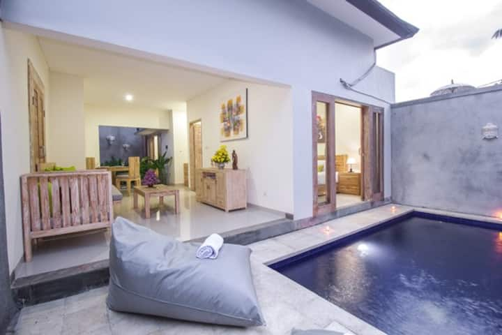 King Bed Villa with private pool in Sanur Bali
