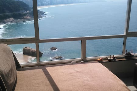 Bedroom in an apartment with the best view of Rio! - Rio de Janeiro - Apartment