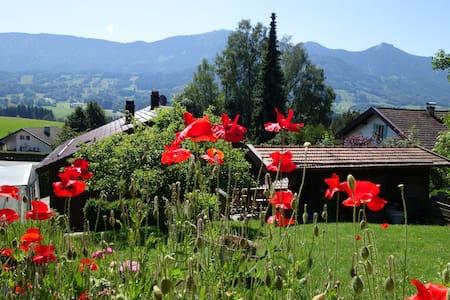 Ferienwohnung Sonnenfeld Bergblick - Samerberg