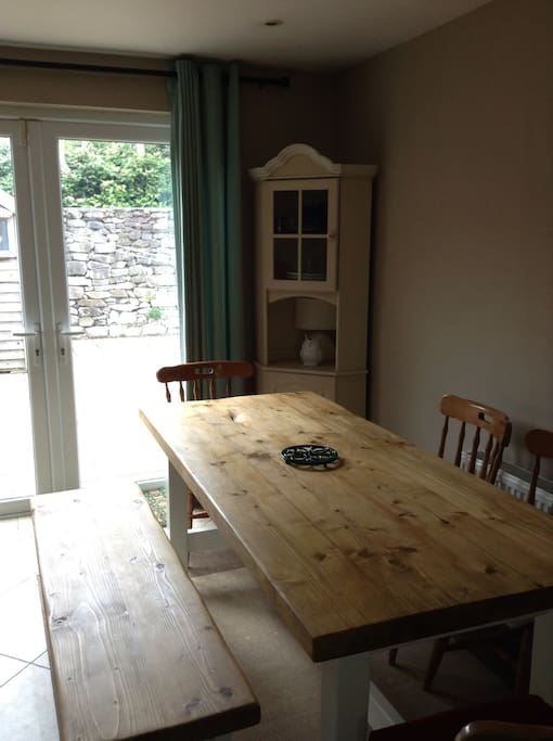 Kitchen table for 8