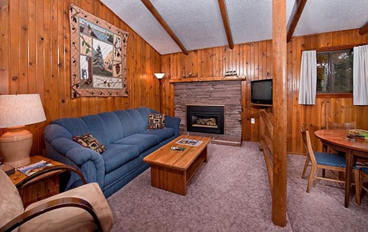 Rustic Cabin with Hot Tub - 5th night 1/2 off!
