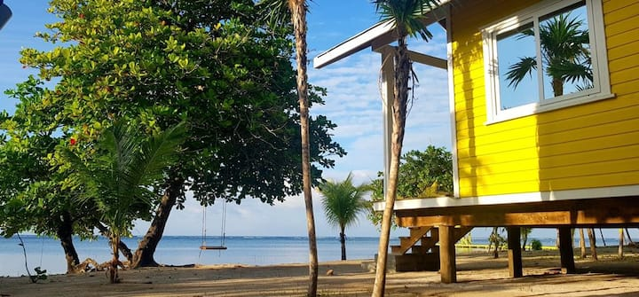 The Paddy Rican Beach Cabins - Yellow Cabin #2