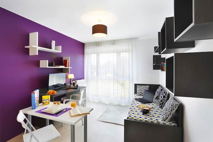 Appartement lumineux Metro8/RERD