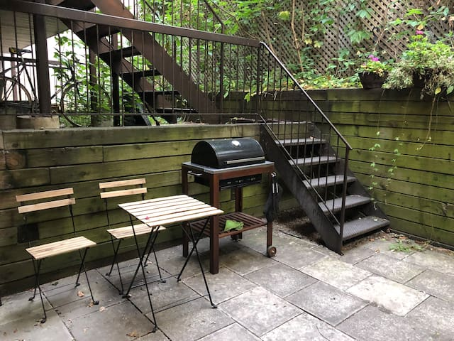 Terrace with BBQ