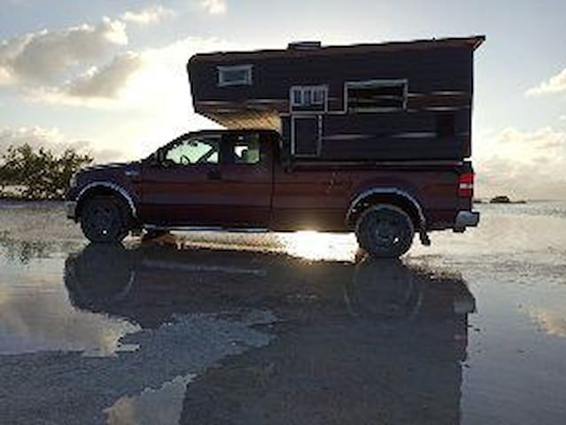 Your room where you want!!!! Camper Ford 4x4