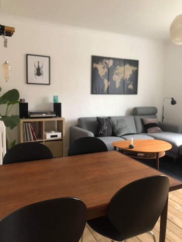 Cozy apartment close to the center of Esbjerg.