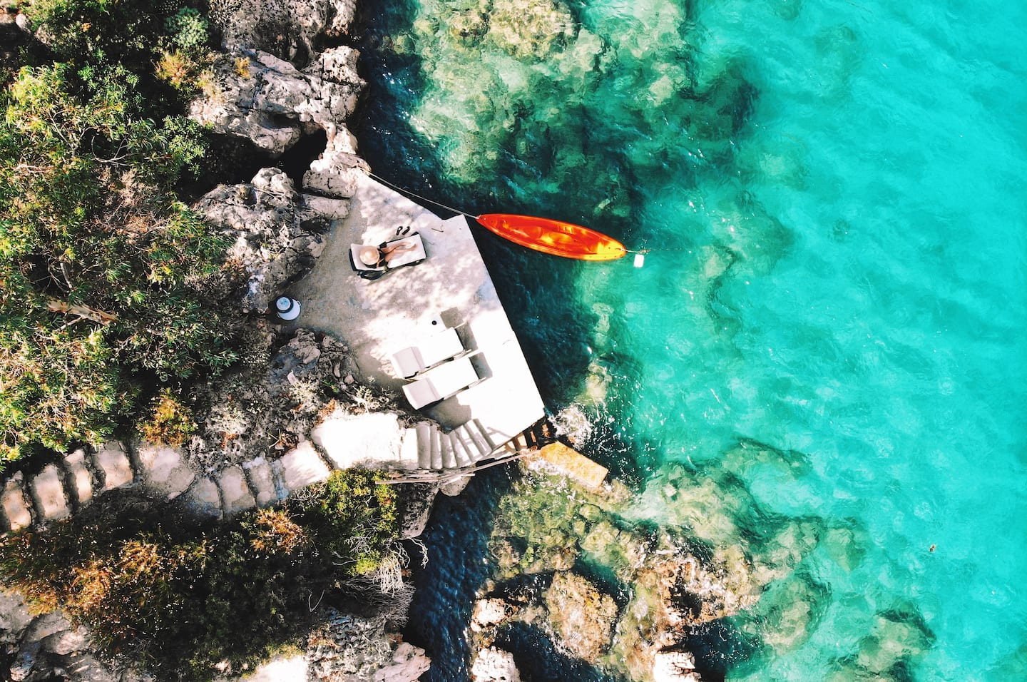 AirBnB in Turkey, Kaş: Repurposed ambar, and turquoise views!