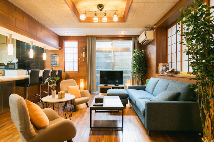5min from Miebashi sta./Up to 12pp/Great location!