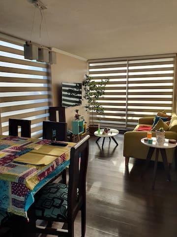Dormitorio/habitación a pasos del Movistar Arena
