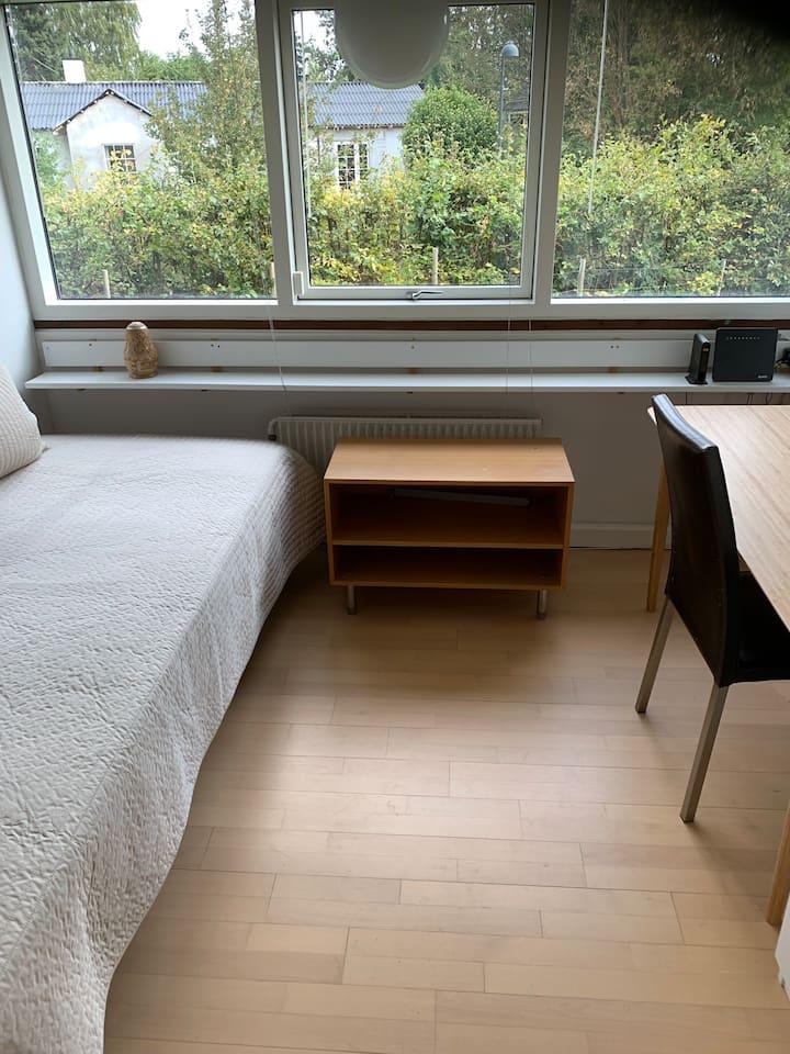 Værelse 1 (af 2 værelser til leje) nær DTU/Lyngby