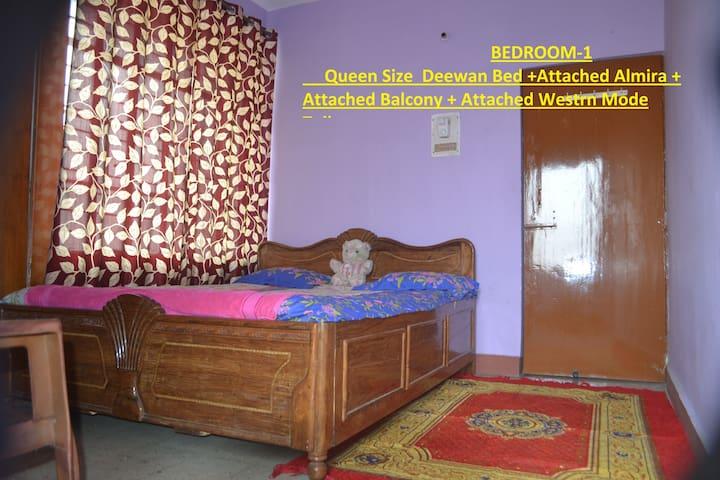 2BHK Flat.on kankarbagh main road. - Patna - Apartamento