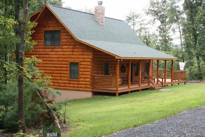 """""""Heaven on Highlands"""" Log Home - Amherst - Cottage"""