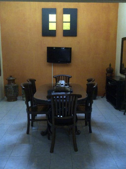 4 br with terrace and wifi houses for rent in godean for Terrace yogyakarta