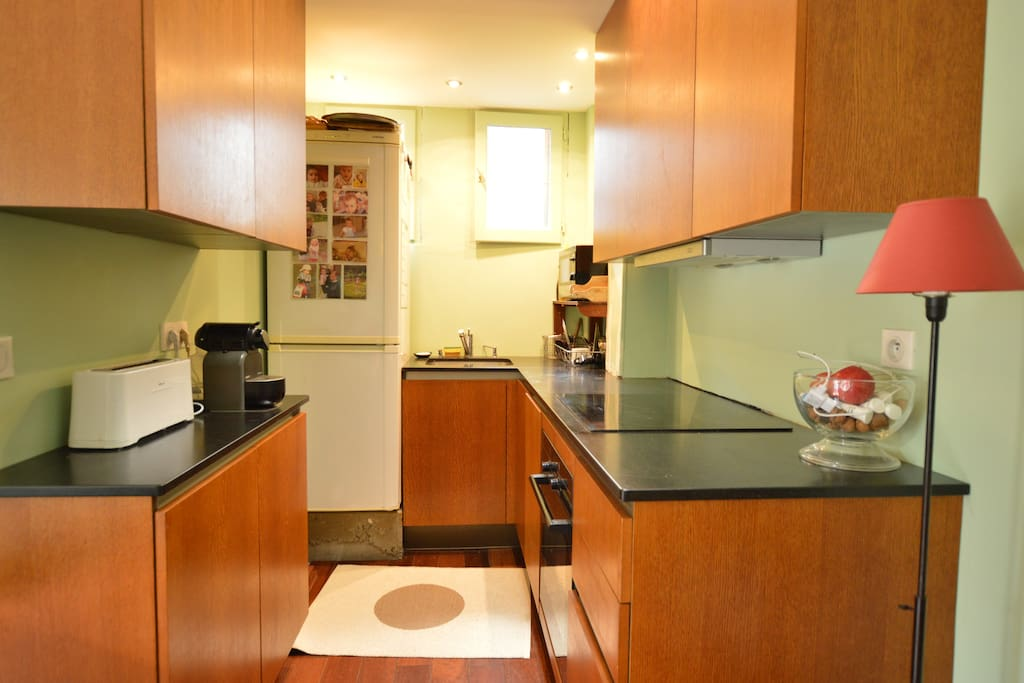 Cook delicious meals at this fully equipped kitchen
