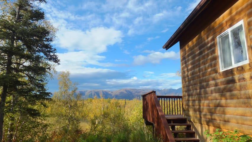 Alaska Creekside Cabins - Wasilla - Stuga