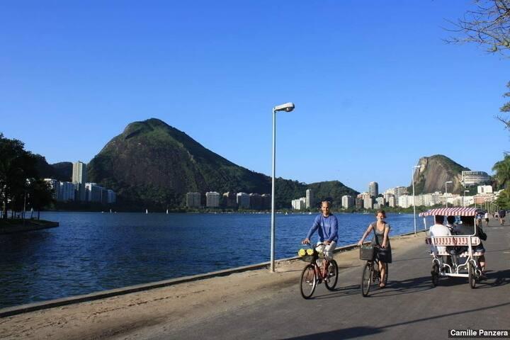 Apart-Hotel Panoramic Lagoa View - Rio de Janeiro - Huoneisto